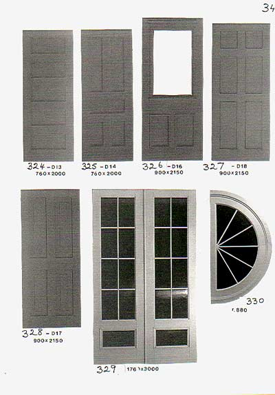 Doors/Windows Thermoplastics